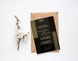 #46 cho Design a Wedding Invitiation Card bởi Noriahadith09