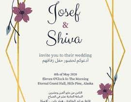 #50 cho Design a Wedding Invitiation Card bởi AuroraBruno6