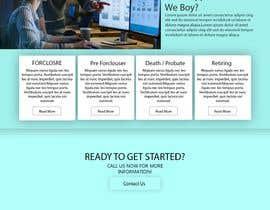 #122 for 1 page website design / redesign af habibfoysal