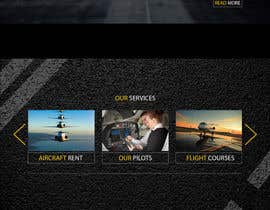 #39 dla Design a FUN and AWESOME Aviation Website Design for Flight Club przez todtodoroff