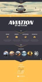 #27 pentru Design a FUN and AWESOME Aviation Website Design for Flight Club de către Nihadricci