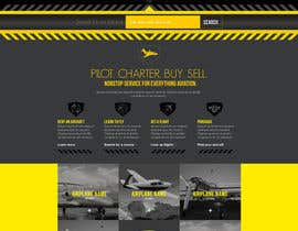 #34 for Design a FUN and AWESOME Aviation Website Design for Flight Club av tremzalore