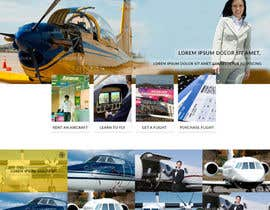 #49 för Design a FUN and AWESOME Aviation Website Design for Flight Club av thelogodesigns