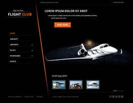 #19 dla Design a FUN and AWESOME Aviation Website Design for Flight Club przez xsasdesign