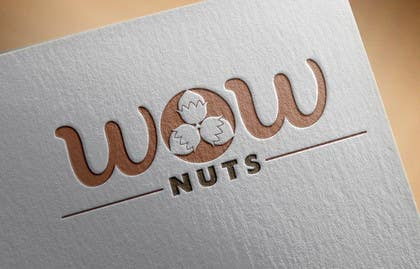 #6 for Design a Logo for WOW Nuts by deztinyawaits