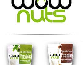 #214 for Design a Logo for WOW Nuts by mariacastillo67