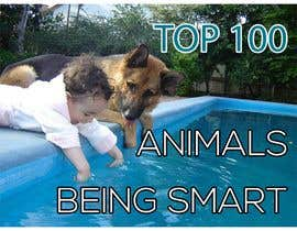 #99 for Create a Youtube thumbnail photo ----- for a youtube video (Top 100 Animals being smart) af Aiubakhondo204