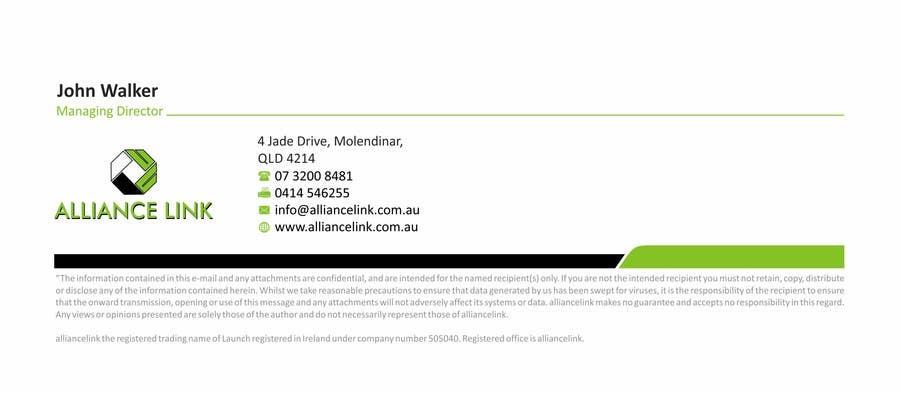 Participación en el concurso Nro.31 para Design Business card (s) and HTML Email signatures