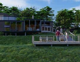 #43 for Eco-home concept drawings for new build on a sloping site by AlonsoSuarez