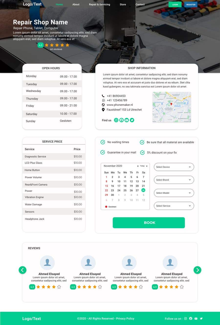 Contest Entry #                                        31                                      for                                         UX design 5 pages
