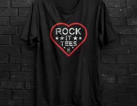 #196 for Rock It Tees logo for T-shirt company by saifalriaj01