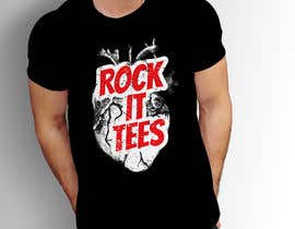 #223 for Rock It Tees logo for T-shirt company by MohsenBD
