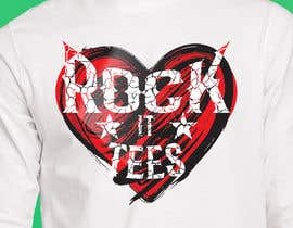 #271 for Rock It Tees logo for T-shirt company by MohsenBD