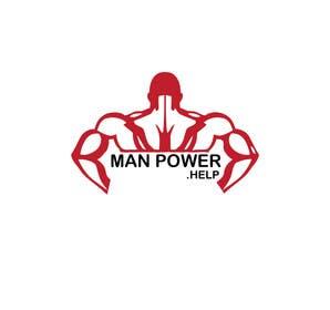 Nro 4 kilpailuun Logo for Manpower.Help käyttäjältä wahabmomin
