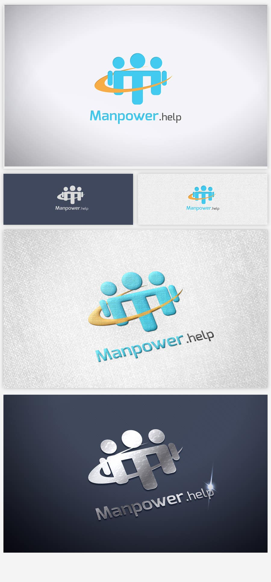 Contest Entry #17 for Logo for Manpower.Help