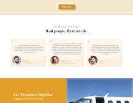 #46 for Website redesign - https://www.danchanmagic.com/virtualmagicshows.html af RUSChandy