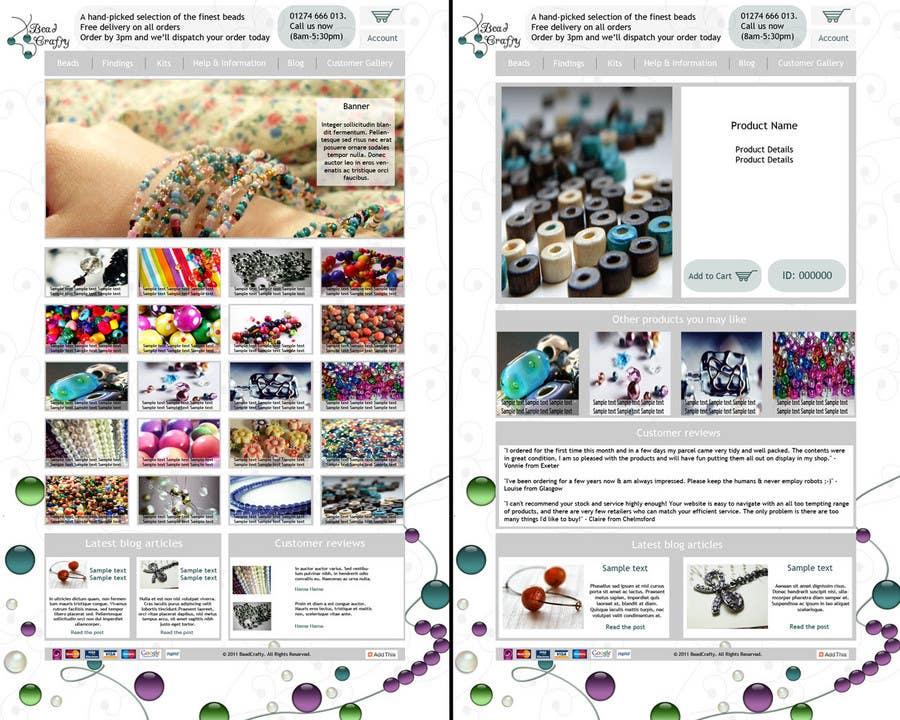 Konkurrenceindlæg #                                        24                                      for                                         Website Design for BeadCrafty.com