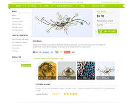 #28 för Website Design for BeadCrafty.com av infocuspro