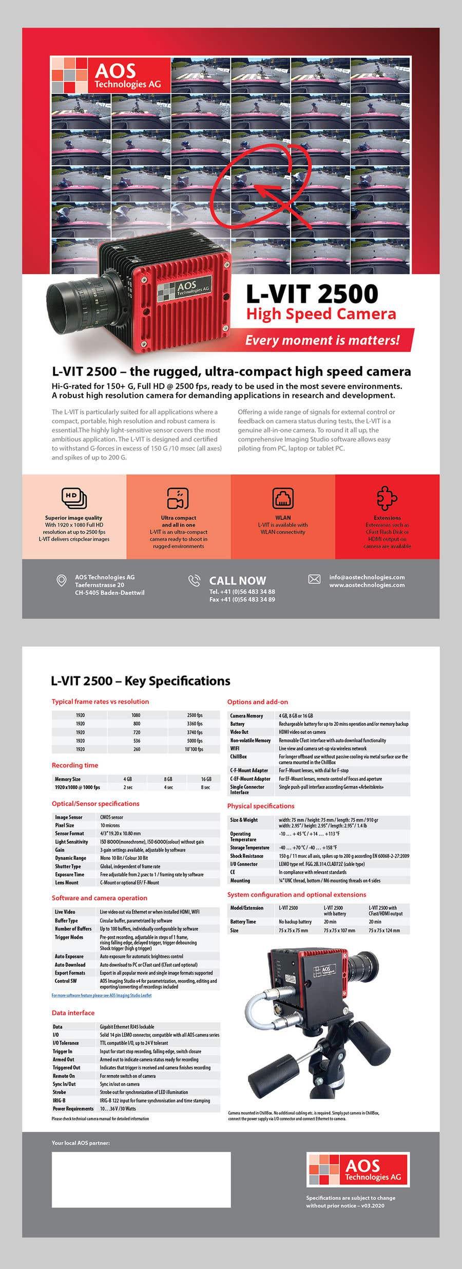 Kilpailutyö #                                        93                                      kilpailussa                                         New leaflet/datasheet/brochure design for our products