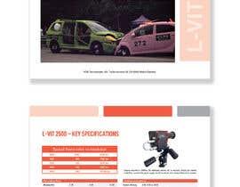 Nro 45 kilpailuun New leaflet/datasheet/brochure design for our products käyttäjältä princessbadal