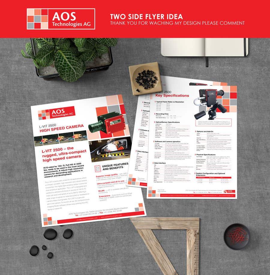 Kilpailutyö #                                        61                                      kilpailussa                                         New leaflet/datasheet/brochure design for our products