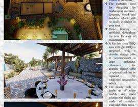 #32 for Landscape Design around an existing pool with Dinning, BBQ , shower and Lounge areas af Jeenesh09