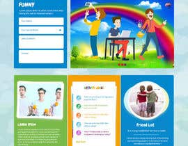 #5 untuk Design a Website Mockup for Kids Social Media site oleh syrwebdevelopmen