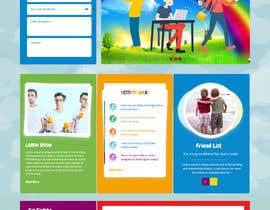 syrwebdevelopmen tarafından Design a Website Mockup for Kids Social Media site için no 10