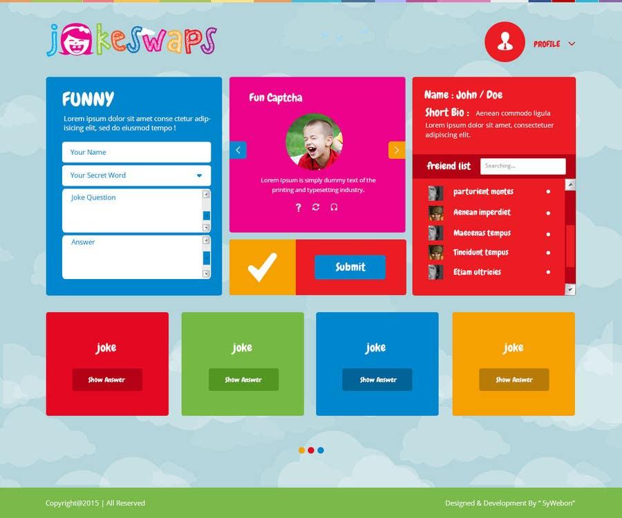 Inscrição nº 13 do Concurso para Design a Website Mockup for Kids Social Media site