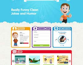 davidnalson tarafından Design a Website Mockup for Kids Social Media site için no 8