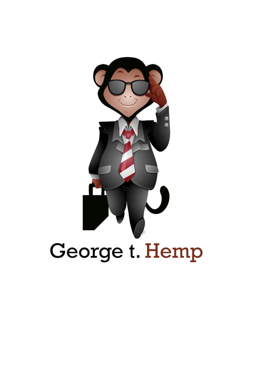 Konkurrenceindlæg #                                        47                                      for                                         Design cartoon character named, George T Hemp.