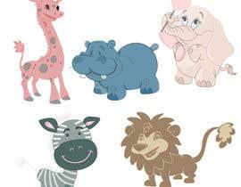 #14 cho Create a safari illustration of baby cloths bởi harjeetkaur319