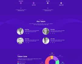Nro 24 kilpailuun Crypto Miner Landing Page käyttäjältä AdibeMed