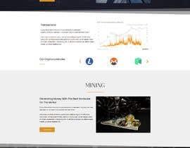 Nro 33 kilpailuun Crypto Miner Landing Page käyttäjältä ififlabs