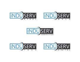 nº 1624 pour Logo Design InduServ par Nuruzzaman835