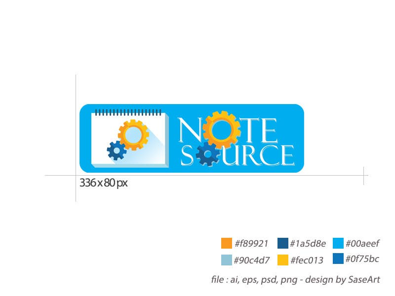 Kilpailutyö #6 kilpailussa Design a Logo for NoteSource
