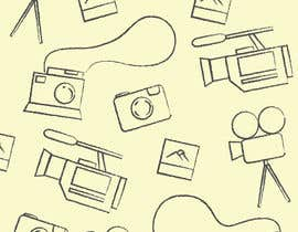 #2 for Seamless Doodle Style Pattern (Photography Related) af jessebauman