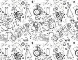 #5 for Seamless Doodle Style Pattern (Photography Related) by barboo