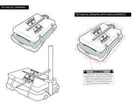 #15 untuk Technical drawing for a Product oleh racp94