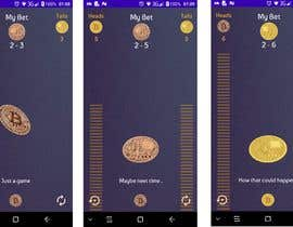 #23 untuk Make me a cool coin flipping app for Android oleh valonis