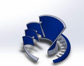 #21 cho CAD Design/ model up logo of Industrial Forms suitable for 3d Printing bởi altairve