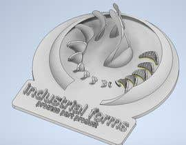 #20 cho CAD Design/ model up logo of Industrial Forms suitable for 3d Printing bởi hasanapuasraful