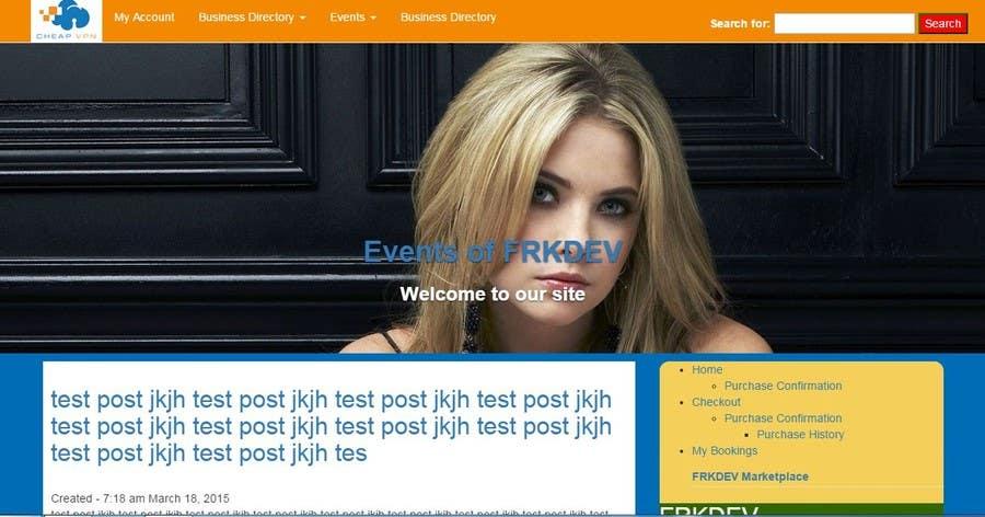 Entri Kontes #                                        2                                      untuk                                        Design a Wordpress Template for cheapvpn.co.za
