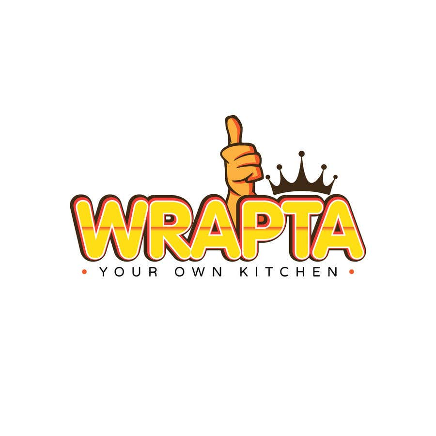 Contest Entry #                                        165                                      for                                         logo for a wraps and rolls kitchen