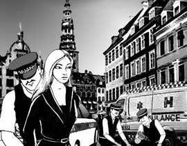 clearboth78 tarafından Black and White Comic Illustration için no 23