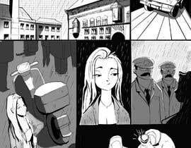 xaviahoa tarafından Black and White Comic Illustration için no 26