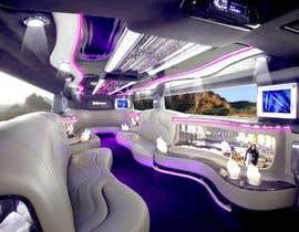 Nro 5 kilpailuun Diseño interior de Limosina en 3D käyttäjältä ahmedrafayatul