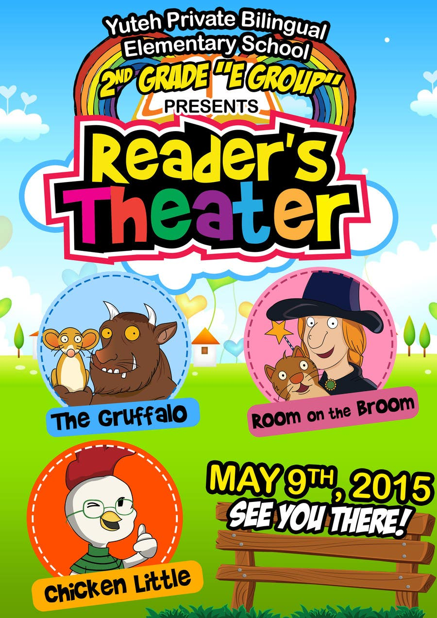 Contest Entry #                                        12                                      for                                         school Reader's Theater invitation