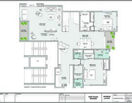 #52 untuk Redesign the architectural drawing of a duplex flat oleh ziadesigner7