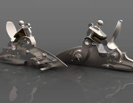 unbrokenindranil tarafından 3d model of flintlock mechanism için no 2